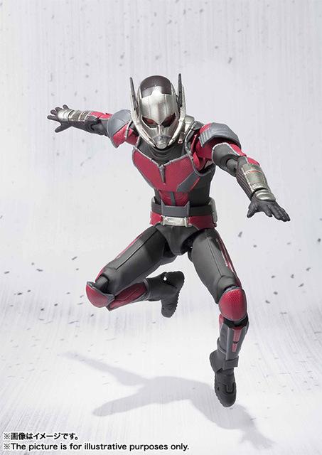 Marvel Civil War Ant-Man Black Panther Action Figure 17cm