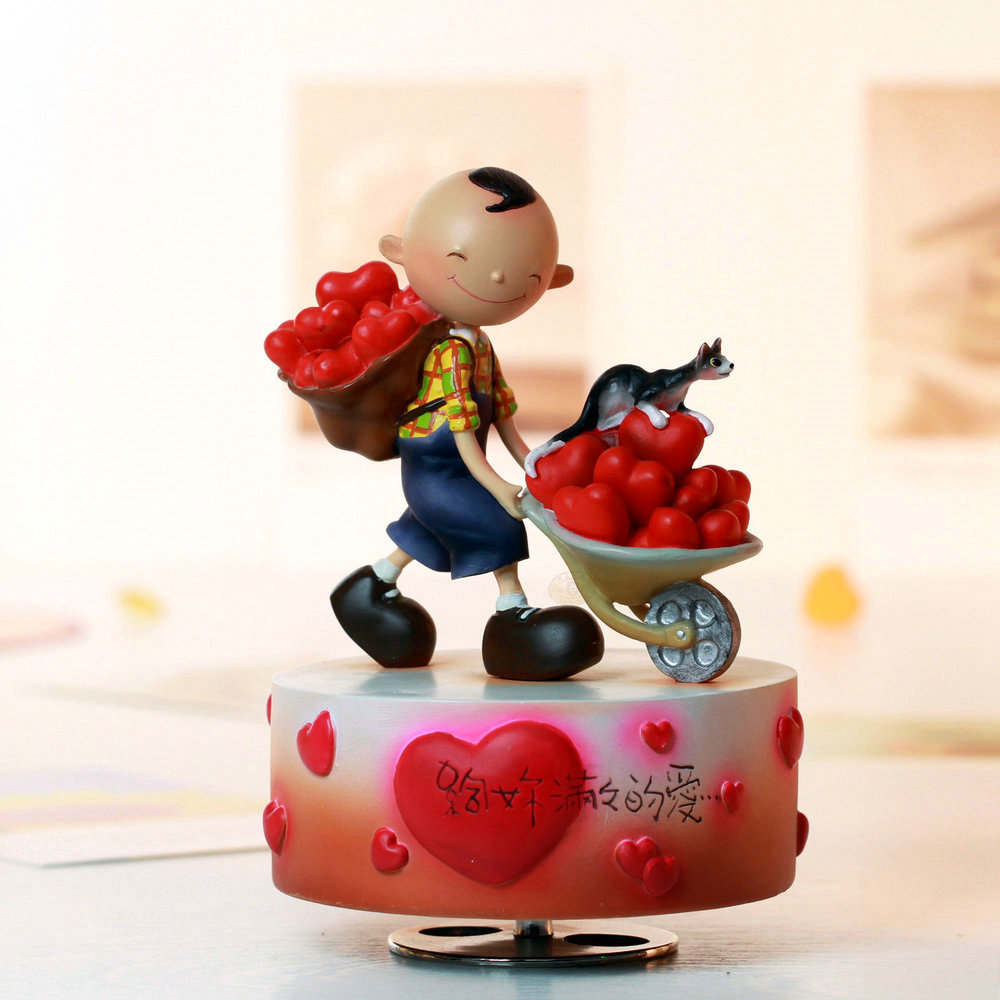 Aliexpress.com : Buy Rotating music box music box birthday ...