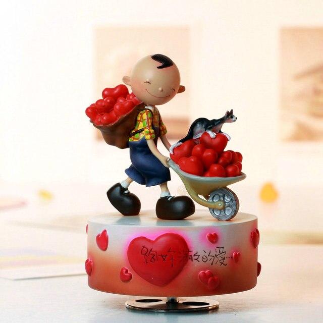 Rotating Music Box Music Box Birthday Gift Girlfriend Gifts Romantic Wedding And Christmas For