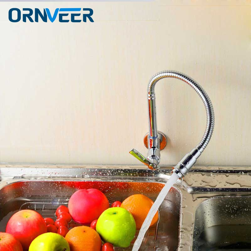 Free Shipping/Modern Chrome Single Handle Kitchen Faucet Cold Water Faucet Wall Mounted Brass Kitchen Taps Free Shipping/Modern Chrome Single Handle Kitchen Faucet Cold Water Faucet Wall Mounted Brass Kitchen Taps