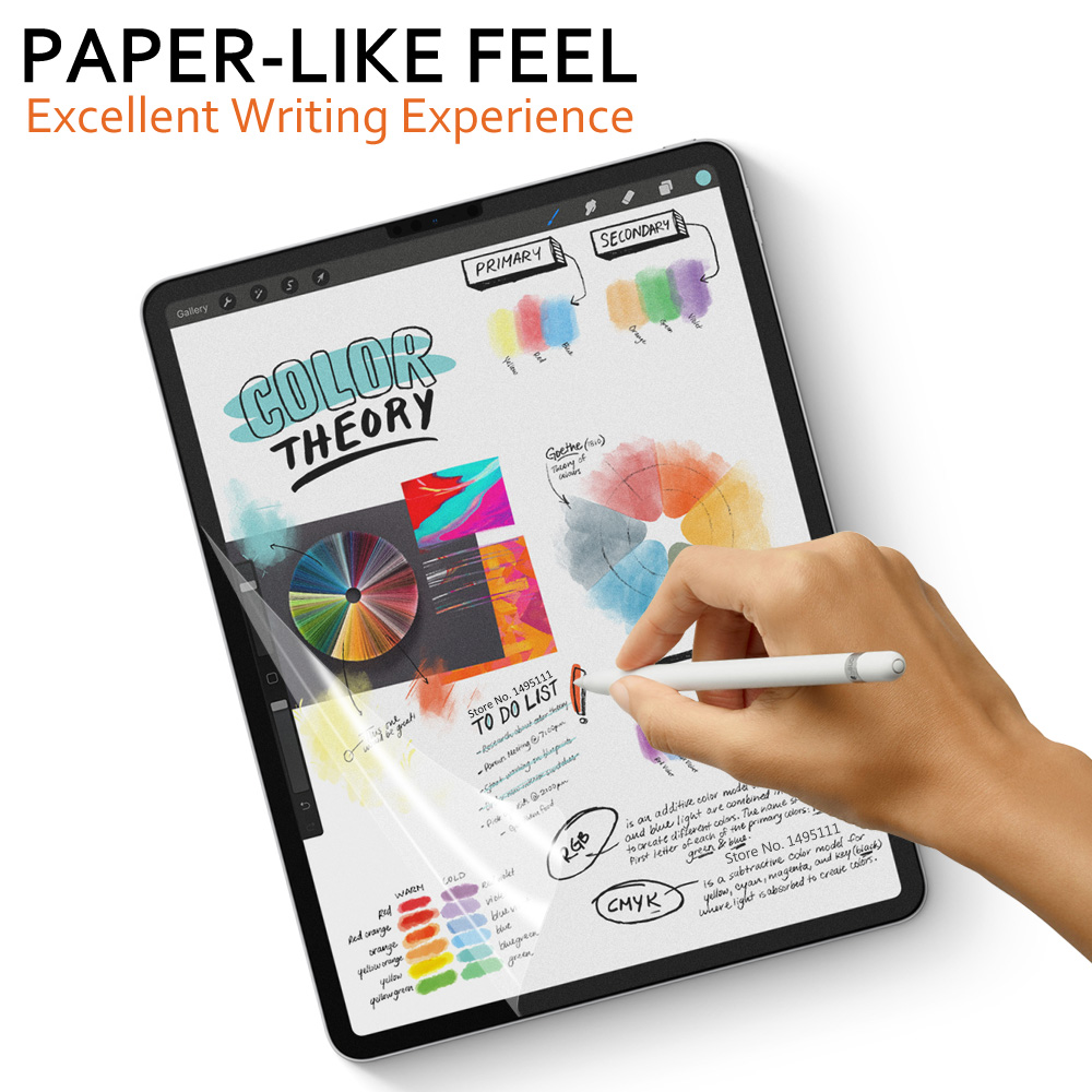 Paper Like Screen Protector Film Matte PET Anti Glare Painting For Microsoft Surface Pro 3 4 <font><b>5</b></font> 6 Go Book 1 <font><b>2</b></font> 13.<font><b>5</b></font> <font><b>15</b></font> inch image