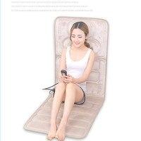 Cervical vertebra massager multifunctional body neck waist shoulder back massage cushion home massage mattress cushion
