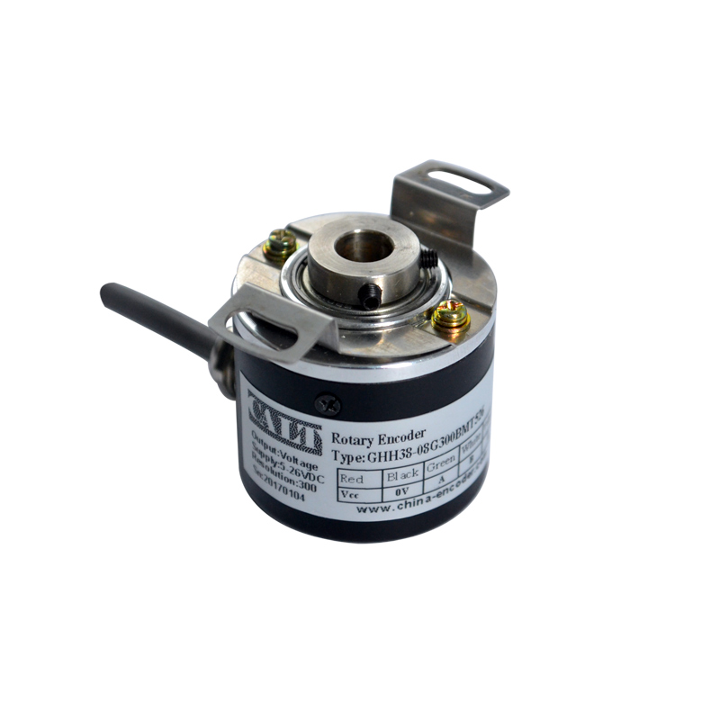 CALT GHH38-06 Hollow Shaft Incremental encoder 38mm outer 6mm shaft Optical Rotary Encoder Push pull outputCALT GHH38-06 Hollow Shaft Incremental encoder 38mm outer 6mm shaft Optical Rotary Encoder Push pull output
