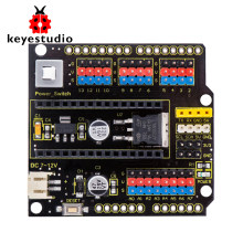 Keyestudio NANO Placa de protección con interruptor de alimentación para Arduino Nano