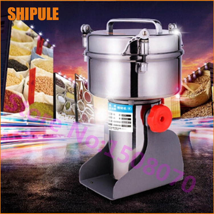 trending products Chinese medicine grinder grinding machine small grain spice herb grinder machine aluminum alloy four layer herb spice pollen grinder nickel black