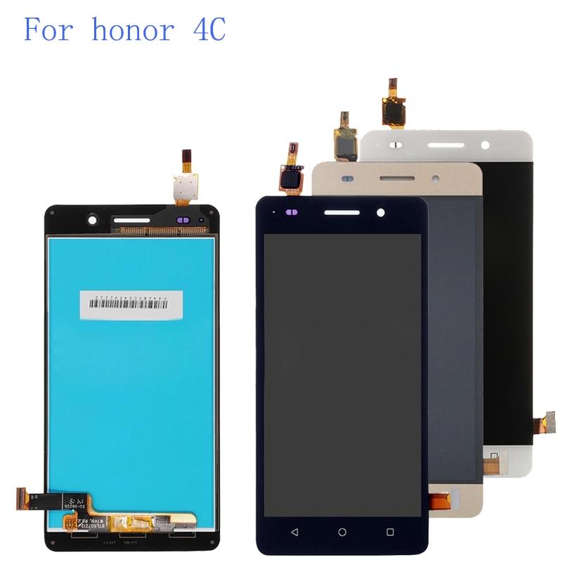 5,0 ''для Huawei Honor 4C/G Play Mini CHM-U23 CHM-U03 CHM-U01 ЖК-дисплей Дисплей Сенсорный экран планшета Ассамблея заменить для Honor 4C