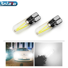 1x 3D ceramics T10 LED W5W Bulbs 194 168 Canbus Error Free Auto Lamp 501 Car Lights Super Bright Bulb 12V 5500K styling