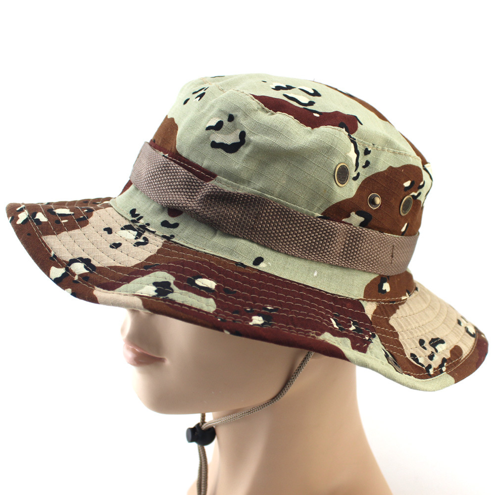Outdoors 2018 Spring Autumn Hunting Hat Military Bonnie Hat Tactical  Airsoft Camouflage Hunting Boonie Cap Multicam Hiking Cap-in Hunting Caps  from Sports ... 02adac55c1fd
