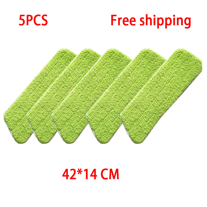 5PCS Top Quality Thicken Washable Microfiber Steam Cleaner Mop Pads , for Flat mop 42*14 CM Series Steam Cleaner Parts5PCS Top Quality Thicken Washable Microfiber Steam Cleaner Mop Pads , for Flat mop 42*14 CM Series Steam Cleaner Parts