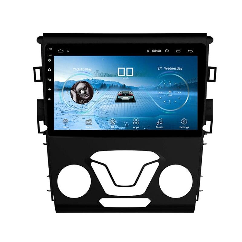 9 2.5D IPS Android 8,1 DVD мультимедиа плеер gps для Ford Mondeo Fusion 2013 2014 аудио автомобиля Радио стерео навигации wi fi