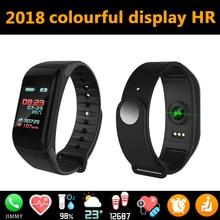 Хена 2018 спортивный смарт-браслет Водонепроницаемый Bluetooth Спорт Фитнес трекер Smart браслет красочные Экран Часы IP67 PK dz09