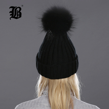 Winter Hat For Women Pom Poms Cap