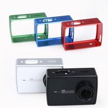 Защитная Алюминиевая Рама Для Xiaomi Yi 2 II 4 К Xiaoyi Камеры Крышка случая ж/Адаптер Для Xiaomi YI 4 K Камеры Аксессуары