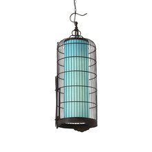 Chinese Style Iron LED E27 Wooden Vintage Chandelier Club Retro Cage Bedroom Living Room Restaurant Lighting Decorative Fixtures
