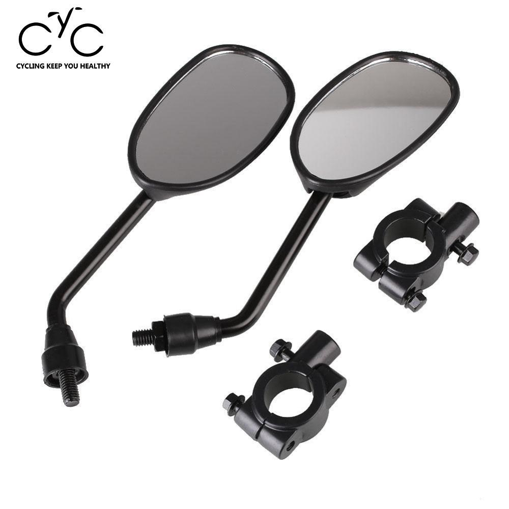 EYCI 1 Set Universal Rear Mirrors Motorcycle Motorbike Scooters Side Rearview Mirror