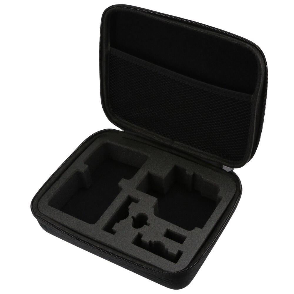 SHOOT Waterproof Middle size EVA Storage Bag Case for AKASO EK7000 GoPro Hero 5 4 3+/3 SJCAM SJ4000 Xiaomi Yi 4K Eken h9 Box