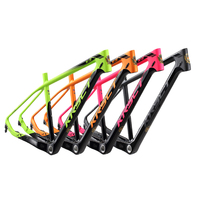 Ultralight 1020g Carbon fiber Mountain Bike Frame glossy 26/27.5/29er MTB Bicycle Frame T700/T800 Carbon Frame 16.5/17.5 inch