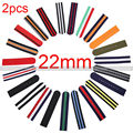 2PCS Pack Watch Strap 22mm Nylon Watch Band washable and durable Woven Nylon Strap Watch Accessories for Watches Women Men
