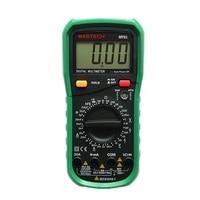 MASTECH MY61 DMM Digital Multimeter AC/DC Ammeter Voltmeter Ohmmeter Professional w/Capacitance & hFE Test Testers Meters
