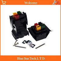 4 Pin/poles/wire New 30A 600V PCB Power Connector module Battery Plug socket kits,4 core UPS power module,color Mix
