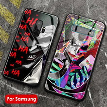 The Joker Smooth glass soft silicone phone case cover shell For