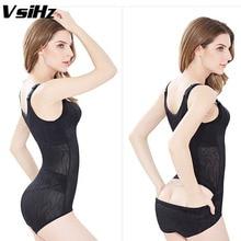 Women shapers Hip opening  Slimming sexy Bodysuit Body Shaper Underbust Adjustable Straps Tummy Waist Cinchers Shaper VsiHz