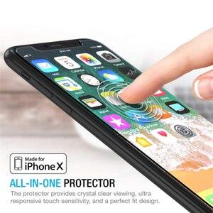 Image 5 - 100 pièces pour Apple IPhone X XR XS Max 11 Pro verre trempé protecteur décran pour IPhone protecteur décran couverture de Film de protection