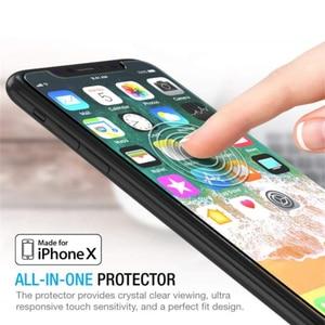 Image 5 - Protector de pantalla de vidrio templado para IPhone X, XR, XS, Max, 11 Pro, 100 unidades