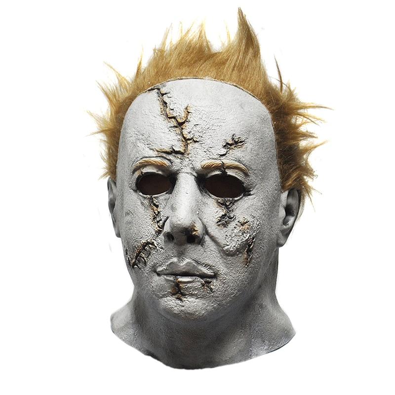 Achetez en gros michael myers masque en ligne des grossistes michael myers masque chinois - Masque halloween film ...