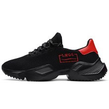 Lovewise new mens shoes comfortable breathable sports air mesh lightweight running increased thick bottom