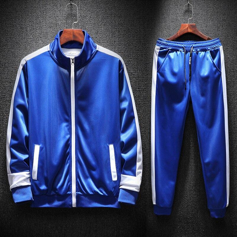 Sports Wear Sweatshirts Men Zipper Jersey Pants Track Jacket Suit Mens Hoodies Tracksuit Clothing Casual Hoddies Women 2018