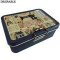 Портативная  изысканная  металлическая  двухслойная  швейная карта и другие маленькие предметы  коробка для хранения  шесть цветов по выбор...