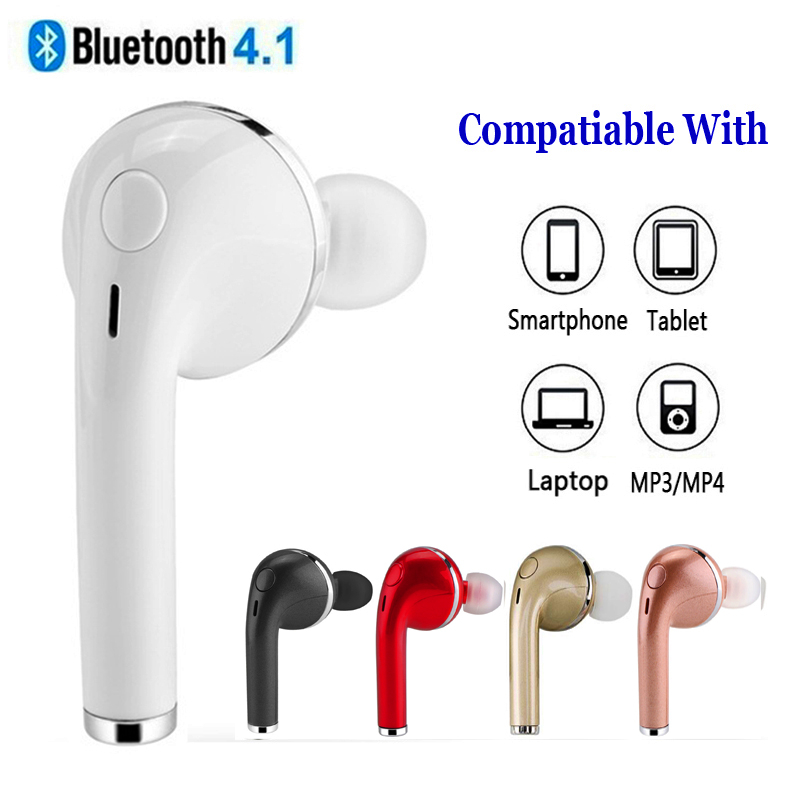 In-ear Colorful Offical Wireless Earphone Bluetooth Headset TWS I7 Invisible Music Earbud For Apple iPhone Samsung Xiaomi Huawei original roman r6000 wireless bluetooth headset for samsung xiaomi iphone 7 car charger 2 in 1 bluetooth earphone