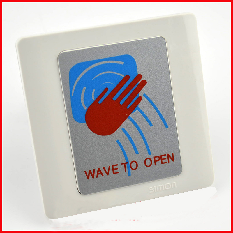ФОТО No Touch Sensor Exit Button for Automatic Door Kit. Microwave Door Release Button for Autogate