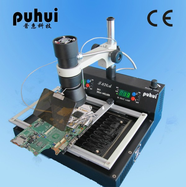 PuHui T870A  infrared weld machine BGA rework  station for motherboard repairing, free tax to Russia puhui t862 irda infrared bga rework station bga smd desoldering rework station free tax to eu