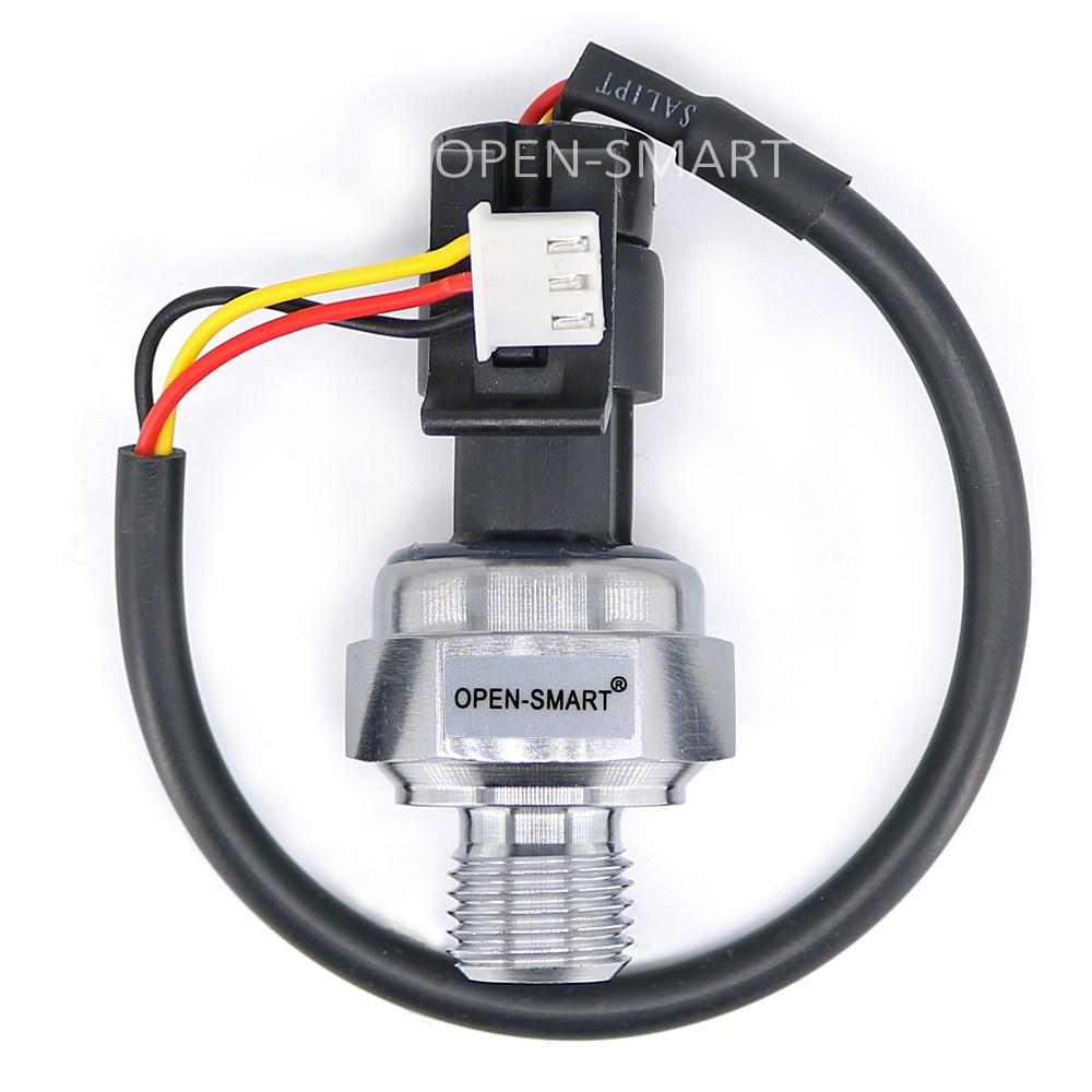 5V G1/4 0-0.5 MPa Hydraulic Pressure Sensor For Non-Corrosive Water / Oil / Gas Pressure Sensor 1/4