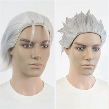 [COSME WIGS] Two Style New Design Perucas Anime Devil May Cry Vergil Synthetic Hair High Quality Cheap Wigs For Cosplay