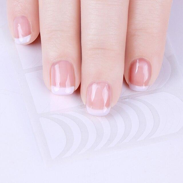 LEMOOC 3 Pcs/set White  Color UV Nail Gel Polish With French Manicure Tip Set Soak Off Gel Varnish Nail Art DIY Gel Laquer 4