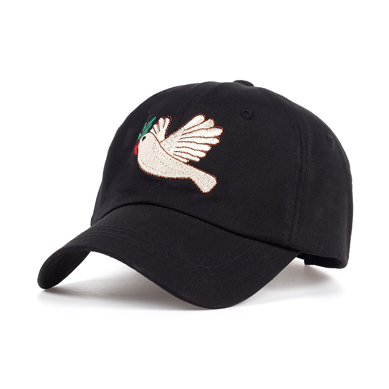 Casual Summer Baseball Cap Adjustable Adult Net Cap Peace Dove:WUROIMK Sun Protection