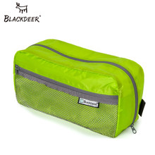Blackdeer Waterproof Zipper Bag swimming Bag Beauty Make Up Organizer Toiletry Bag Cordura Storage Travel Wash Pouch Ultralight(China)
