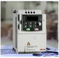 DELIXI AC 380V 3.7KW 3 phase inverter input frequency converter for motor Adjustable Speed 50HZ 60HZ 2200W Inverter drives