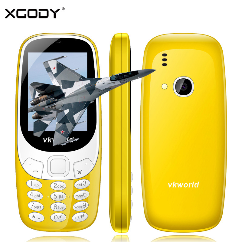 In Stock New Vkworld Z3310 Unlock 2G GSM Mobile Phone Russian Keyboard Cheap Phone with Free