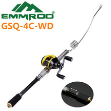 The New 2016 EMMROD ultrashort Portable Road the Fishing Combo Kits Sea Fishing Rafts Fishing GSQ-4C-WD