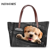 INSTANTARTS Fashion Large Capacity Women Handbags Brand Desi