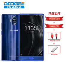 Hot Sale DOOGEE MIX Lite Smartphone 7.0 2GB RAM 16GB ROM 5.2 Inch Android MTK6737 Quad-Core 1.5GHz 4G Dual Camera mobile phone