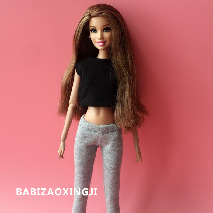 1/6 Blyth Doll Fashion Casual Clothes For Pullip Doll Accessories T-shirt+ Pants Blyth 1/6 Doll Clothing For Barbie
