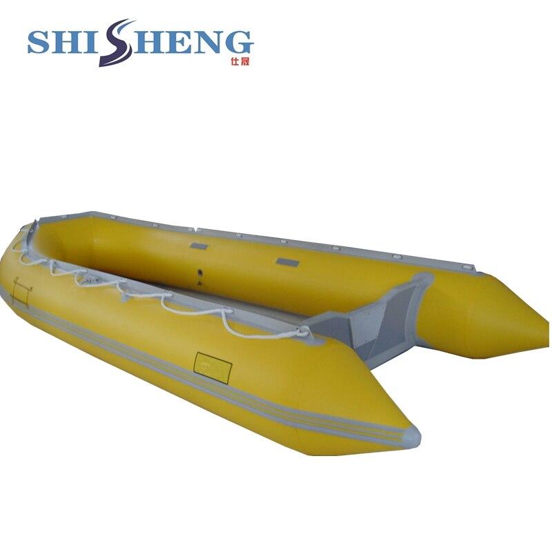 Bateau gonflable de pêche d'individu de bateau à rames de petite pagaie d'eau matérielle de PVC - 2