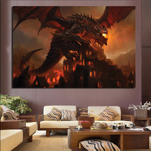 The Art Of World Warcraftes Canvas Painting Prints Living Room Home Decor Modern Wall Posters Pictures Framework