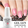 Gel Len DIY Nail Art Salon Gel Polish LED Gel Varnish Long Lasting UV Soak Off Gel Lacquer