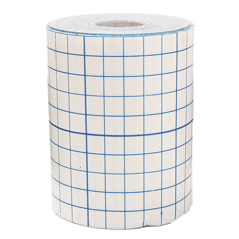 100pcs medical use hypoallergenic no woven wound dressing adhesive absorbet bandage large wound emergency outdoor accessories 10cmX10m Waterproof Adhesive Wound Dressing Medical Fixation Tape Bandage Waterproof Fixation For Dressings